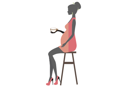 Does drinking tea during pregnancy affect the foetus?