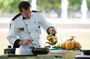 Chefs and the tea maker slider image 1
